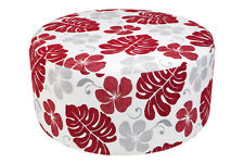 AUSTRALIAN MADE FIJI Round Ottoman (800 Diameter) Sofa Lounge Couch Footstool