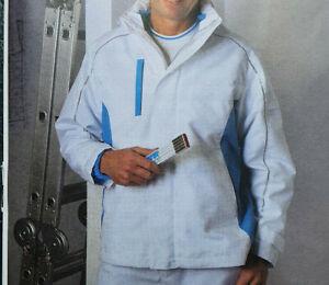 Herbol Maler Parka Jacke Arbeitsjacke Weiß Größe 50