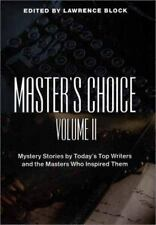 Master's Choice: Mystery Stories by Today's Top Writers and the Master-ExLibrary