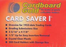 500ct Card Saver 1 Semi Rigid Holders CS1