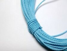 12 METERS BLUE POLYSTER SILK BEADING CORD STRING 2.5MM #T-2850