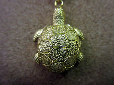 NEW TURTLE GOLD CLIP WATCH TURTLES Key Ring Watches