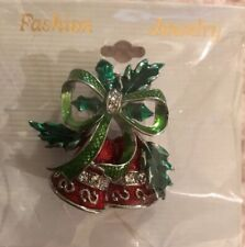 Christmas Bell Pin - Brand New