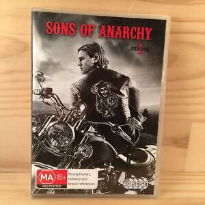 SONS OF ANARCHY Complete Season 1 Action Series Three DVD Set (R4) 4 Discs