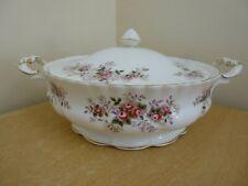 Royal Albert lavender Rose Tureen or Lidded Vegetable Bowl