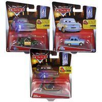 Cars 2 Oil Rig Getaway Series Race Diecast Metal Vehicles Disney Pixar Mattel