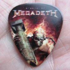 MEGADETH Collectors Guitar Pick; 'Arsenal of Megadeth' Dave Mustaine