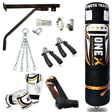 Pro Boxing Punch Bag Heavy Duty Martial Art Kick MMA Punching Gloves(150 Cm)