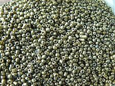 Perles de rocaille  2mm 20g gold or