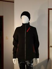 Bontrager Womens Mtb Soft Shell Cycling Jacket Reflective Size Medium M Black