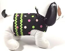 Dog Pet Cat Clothes Harness Size Small 4.5 to 6 LBS Handmade NEW Girl Polka Dots