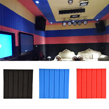 30x30x2cm Striped Studio Soundproofing Acoustic Foam Panel KTV Wall Tiles