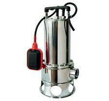Pompa sommersa acque sporche nere luride  Matra VORTINOX 150 SG 1,5Hp Inox fogna