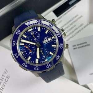 IWC Aquatimer Chronograph IW376711 Blue Dial - Unworn Model