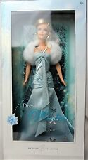 I Dream of Winter Barbie Collector Silver Label Doll Mint in slightly worn box