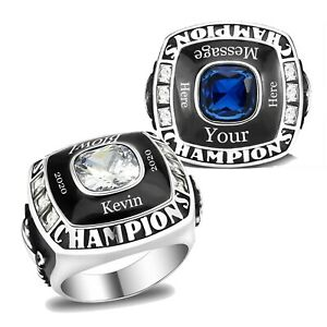 Custom Text and Color Championship Ring - Football, baseball, basketball, esport