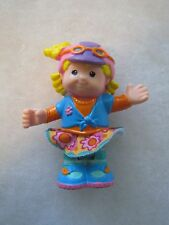 Fisher Price Little People SARAH LYNN SCOOTER RIDER HELMET Bendable Poseable HTF