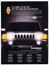 2008 Hummer H3 Alpha Spectacular  - Classic Car Advertisement Print Ad J110
