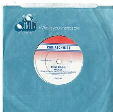 "Toni Basil - Mickey 7"" Single 1981"