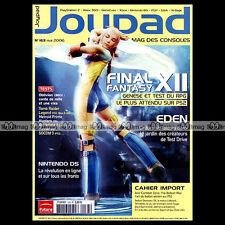 JOYPAD N°163 FINAL FANTASY 12 NNTENDO DS EDEN OBLIVION DAXTER STELLA DEUS 2006