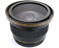 Ultra Super HD Panoramic Fisheye Lens For Panasonic HDC-SD800K HDC-SDT750K 3D