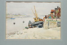 Harbor Scene by Llewellyn Petley-Jones