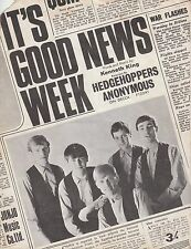 It's Good News Week - Hedgehoppers Anonymous - 1965 Sheet Music