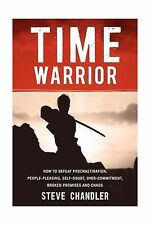 Time Warrior: How to defeat procrastination people-pleasing sel... Free Shipping