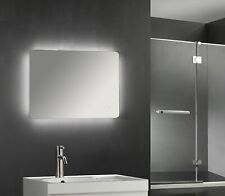 800 x 600mm Backlit LED Illuminated Touch Bathroom Mirror Demister  IP44 3008