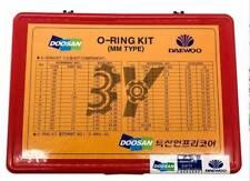 O-RING Kit Sealing Rubber Ring Kit Fit For Doosan Daewoo Excavator