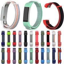 Nylon Loop Strap Bracelet Wristbands Watch Band For Fitbit Alta HR ACE