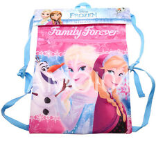 Frozen Girls Sling Bag Adjustable Straps for Library, Swimming, Sports *New