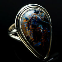Large Pietersite 925 Sterling Silver Ring Size 8.25 Ana Co Jewelry R11127F