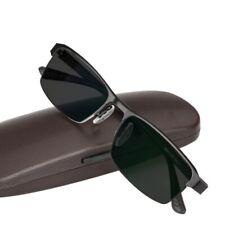 High-grade half frame reading glasses Photochromic transition sunglasses black