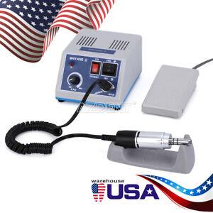 Dental MARATHON Lab Micro Motor Machine + Handpiece Micromotor 35,000 rpm E Type