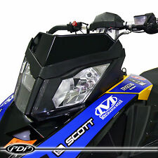 SKI-DOO SUMMIT 2008+ Proven Design Products Snowmobile WINDSHIELD : GLOSS BLACK