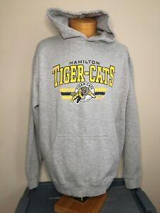 Hamilton Tiger Cats CFL Football Sweatshirt Hoodie Men's Size XL