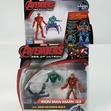 Marvel Avengers Age of Ultron Marvel's Vision vs Sub-Ultron 001 Action Figures