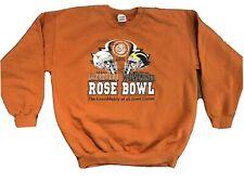Texas Longhorns Rose Bowl 2004 2005 Crewneck Sweatshirt Large Vince Young