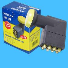 Humax DIGITAL OCTO LNB LNC LMB 182 8 fach bis 8 Receiver direkt FULL HDTV 3D HD+