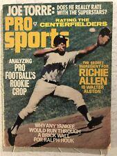 1971 Pro Sports NEW YORK Yankees HORACE CLARK Joe Torre NFL Rookies JOHN RIGGINS