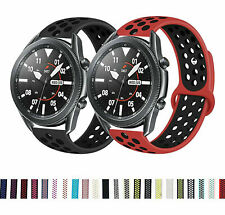 For Samsung Galaxy Watch 3 41mm Silicone Sports Strap Breathable Band