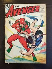 The Avenger Comic  #2 1955 ME-Dick Ayers--H-Bomb-Flying Saucer Good Condition