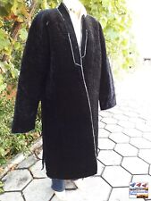 Vintage uzbek traditional men's robe coat kaftan handmade from cotton fabric