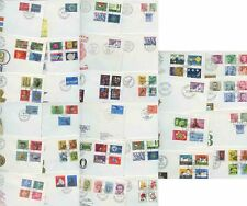 SWITZERLAND ILLUST.FIRST DAY COVERS + SETS...1960-76...56 COVERS