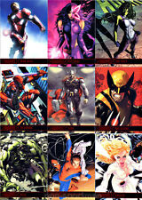 MARVEL GREATEST HEROES 2012 SET OF 81 CARDS