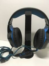3.5mm Gaming Headset Mic LED Headphones Stereo Surround for Laptop Ps4
