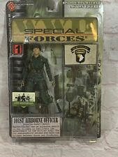 PLAN B TOYS WWII SPECIAL FORCES 101st AIRBORNE OFFICER NEW ON CARD