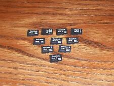 10 - 16GB Micro SD Card