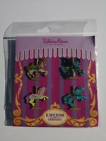 Kingdom Carousel Booster Disney Pin Set 121041